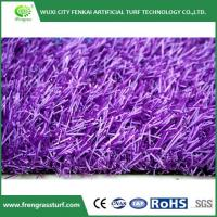 Buy cheap Purple Artificial Turf from wholesalers