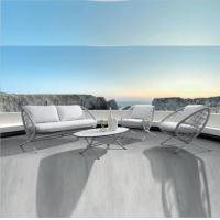 Buy cheap Hot sale simple Poolside furniture outdoor garden patio lounger sofa rope outdoor furniture from wholesalers