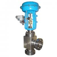 Buy cheap Pneumatic high pressure angle control valve from wholesalers