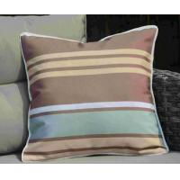 Pillow-3 Pale Brown Flush Square Scatter Pillow Case Manufactures
