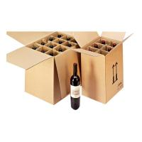 24 Bottles Packing Box With Paper Inserts