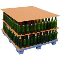 China pp corrugated plastic separator sheet bottle layer pad on sale