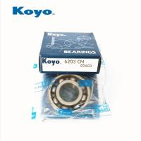 High Speed Bearings KOYO 6203 China bearing Suppliers Manufactures