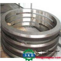 Carbon Steel Helical Ring Gears Big Size Manufactures