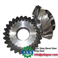 Speed Ratio 7 40 spiral bevel gear Manufactures