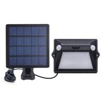 China Dual Motion Sensor RGB Solar Garden Wall Light on sale