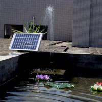 China DC Brushless Mini Solar Water Pump Landscape Decorative Pool Solar Garden Water Pump Kit on sale