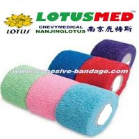 China Skin Color Elastic Bandage Cohesive Bandage on sale