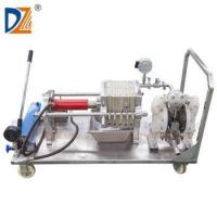 Lab scale filter press for oil filtering