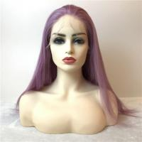 Wigs Purple Color Human Full Lace Wig Manufactures
