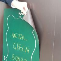 Magnetic Receptive Green Board Sheets