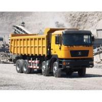 Buy cheap Shacman 8X4 340 HP sand tipper truck for sale with weichai engine shacman truck from wholesalers