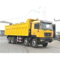 Buy cheap Shacman 8X4 40 ton sand tipper truck with weichai engine shacman truck price from wholesalers