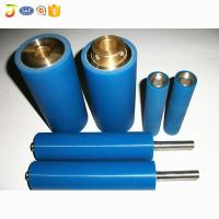 High Quality machine manual Blue NBR Rubber Roller for printing press