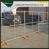 Galvanized chain link temporary fence/moving chain link fence Manufactures
