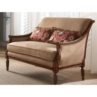 Fine Furniture Design Living Room Sofa With Wood Arm Panel 0810-01 at Room to Room Manufactures