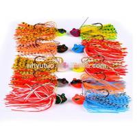 NEW Colorful Angry Jig Fish Head Fishing Hooks Bait Luminous Lead Jig Head Lure Manufactures
