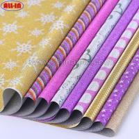 China self adhesive printable glitter wrapping roll decorative paper on sale