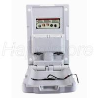 Buy cheap Wall Mounted Vertical Thinner HPDE Grey Commercial Baby Changing Station from wholesalers