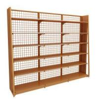 Buy cheap Single Side Shelves Supermarket Single-Sided Steel Wooden Display Shelves from wholesalers