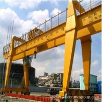 Buy cheap Double Girder Gantry Crane General Purpose Double Girder Gantry Crane with trolley from wholesalers