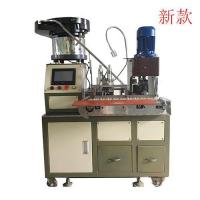 Buy cheap Automatic two plug terminal Stripping Crimping Machine from wholesalers