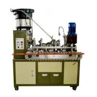Buy cheap Fully automatic stripping round wire rack Terminal Crimping Machine from wholesalers