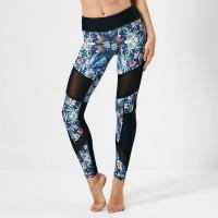 Leggings Floral mesh spandex yoga leggings print GYP16003 Manufactures