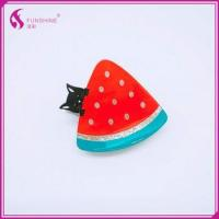 Mini Cellulose Acetate Hair jaw Claws Colorful Custom Cute Watermelon Shaped Kids Hair Claw Clips Manufactures