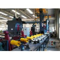 Buy cheap Steel Tube Shot Blasting Painting Production Line from wholesalers
