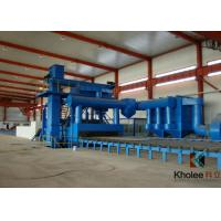 Quality KLY Steel Plate Shot Blasting Painting Production Line for sale