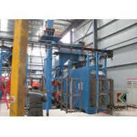 Quality Continuous Overhead Rail Shot Blasting Machine for sale