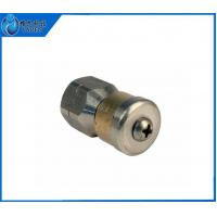 Nozzle 1 4 F 5.5 Orifice Rotating Drain Sewer Jetter Nozzle 3 Rear Facing Jets Manufactures