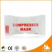 Buy cheap Disposable DIY Facial Paper Compress Mask using with toner from wholesalers