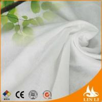 viscose / polyester material and heart embossed pattern nonwoven fabric Manufactures