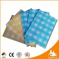 Small Size JW0609 55% Cellulose 45% Polyester White Cleanroom Paper Wipers for Dirty Manufactures