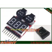 LiFe Li-ion Lipo 2-8S electronics Battery meter/monitor with Low Voltage Alarm