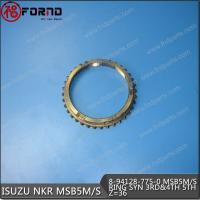 RING GEAR OF SYNCHRONIZER 3RD-4TH-5TH SHIFT 8-94128-775-0 Manufactures
