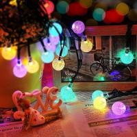 Solar Fairy Bubble Crystal Ball String Lights Admin Edit Manufactures