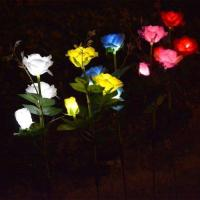 Buy cheap Outdoor Decorative Solar Rose LED Lights Admin Edit from wholesalers