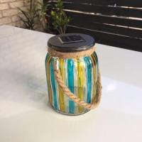 Buy cheap Solar Powered Decorative Jar Light LED Lights Admin Edit from wholesalers