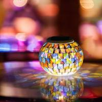 Gifts of Mosaic Table Solar Mosaic Glass Night Lights Admin Edit Manufactures