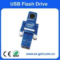 Buy cheap 8GB plastic robot USB flash Drive from wholesalers