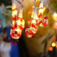 Low Voltage String Lights Low Voltage LED Christmas Candy Cane String Lights Manufactures