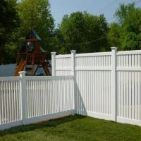 PVC picket fence garden fence vinly fence