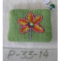 Quality Wool Felt Coin Purses CP-P-33-14 for sale