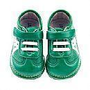 MSA255Jack and Lily My Shoes Star Trainer Green Manufactures