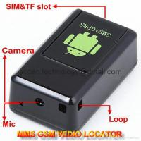 GF-08 GSM MMS Video Photo Transmit Camera GPS Tracker Audio Listening Bug 3-in-1 Manufactures