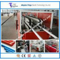 China Conical Double Screw Extruder Machinery Cost For PVC Electric Conduit Pipe Making Machine on sale
