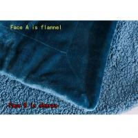Buy cheap Flannel + Sherpa Blanket - FS-A01 from wholesalers